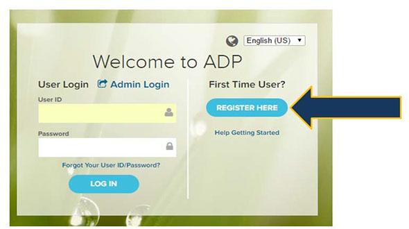 Adp Admin Login >> Adp Setup